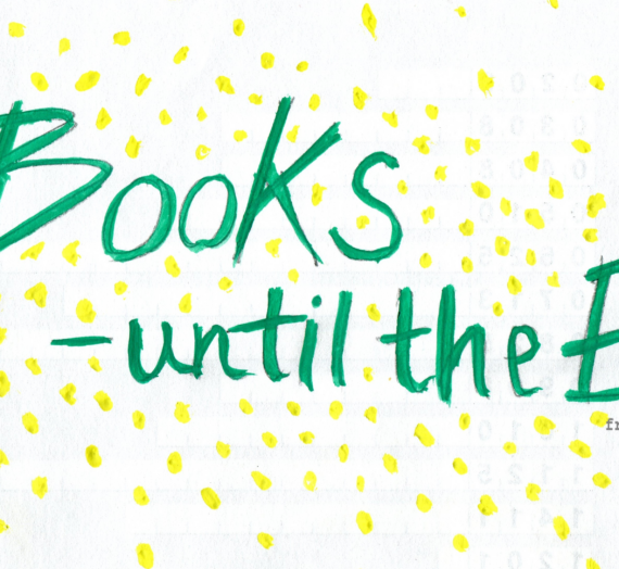 #Books until the end – TAG