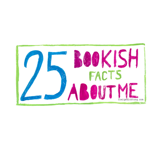 #TAG: 25 Bokish Facts About Me