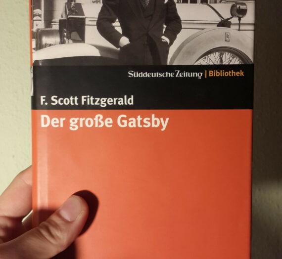 [Rezension] F. Scott Fitzgerald: Der große Gatsby