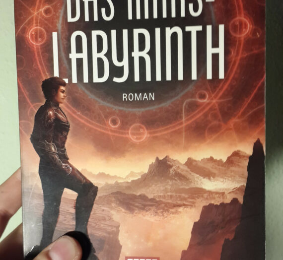 [Rezension] David Macinnis Gill: Das Mars-Labyrinth