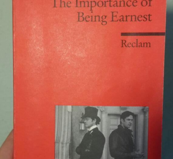 [Rezension] Oscar Wilde: The Importance of Being Earnest