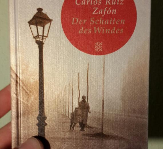 [Rezension] Carlos Ruiz Záfon: Der Schatten des Windes
