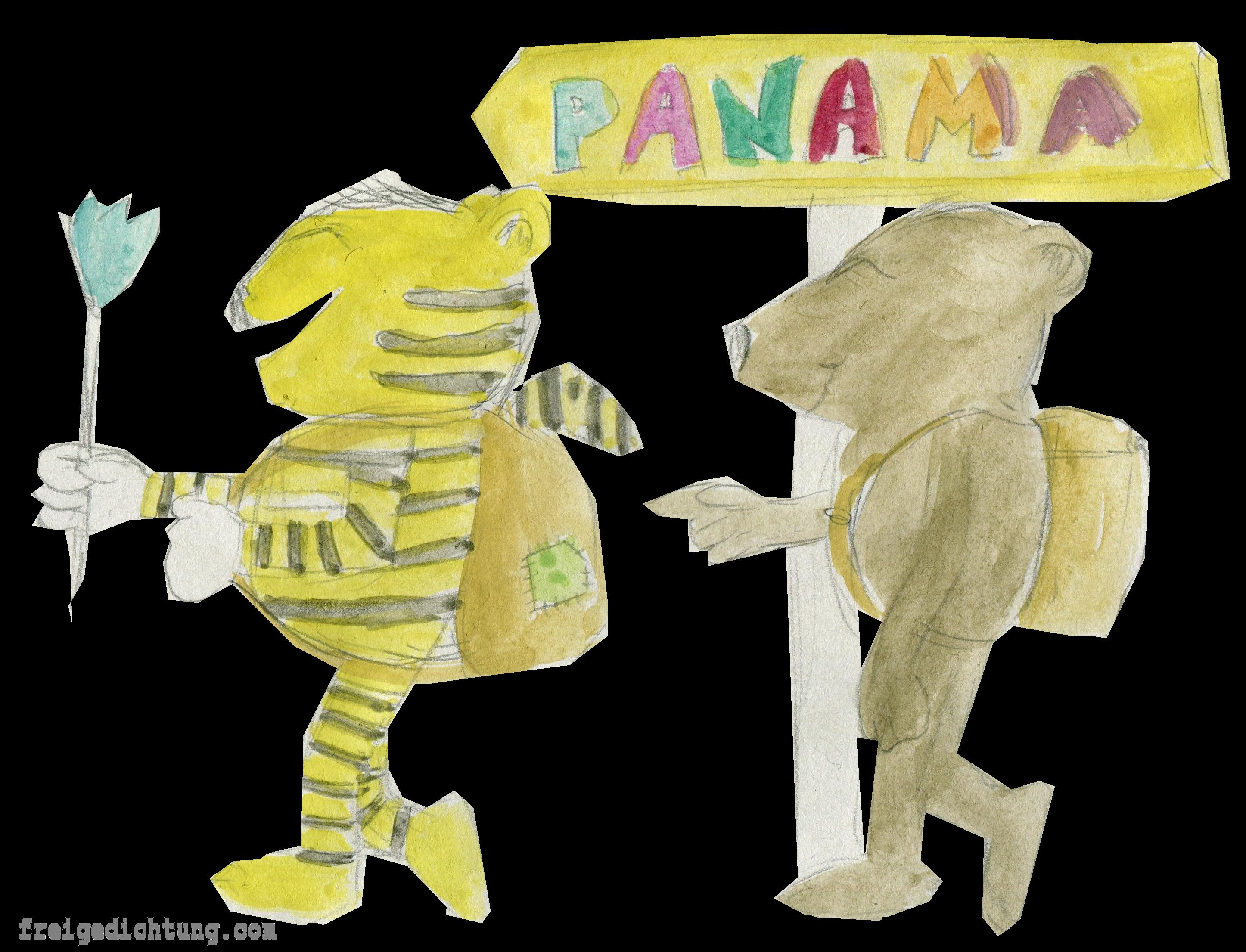 63-tiger-und-baer-und-panamaschild