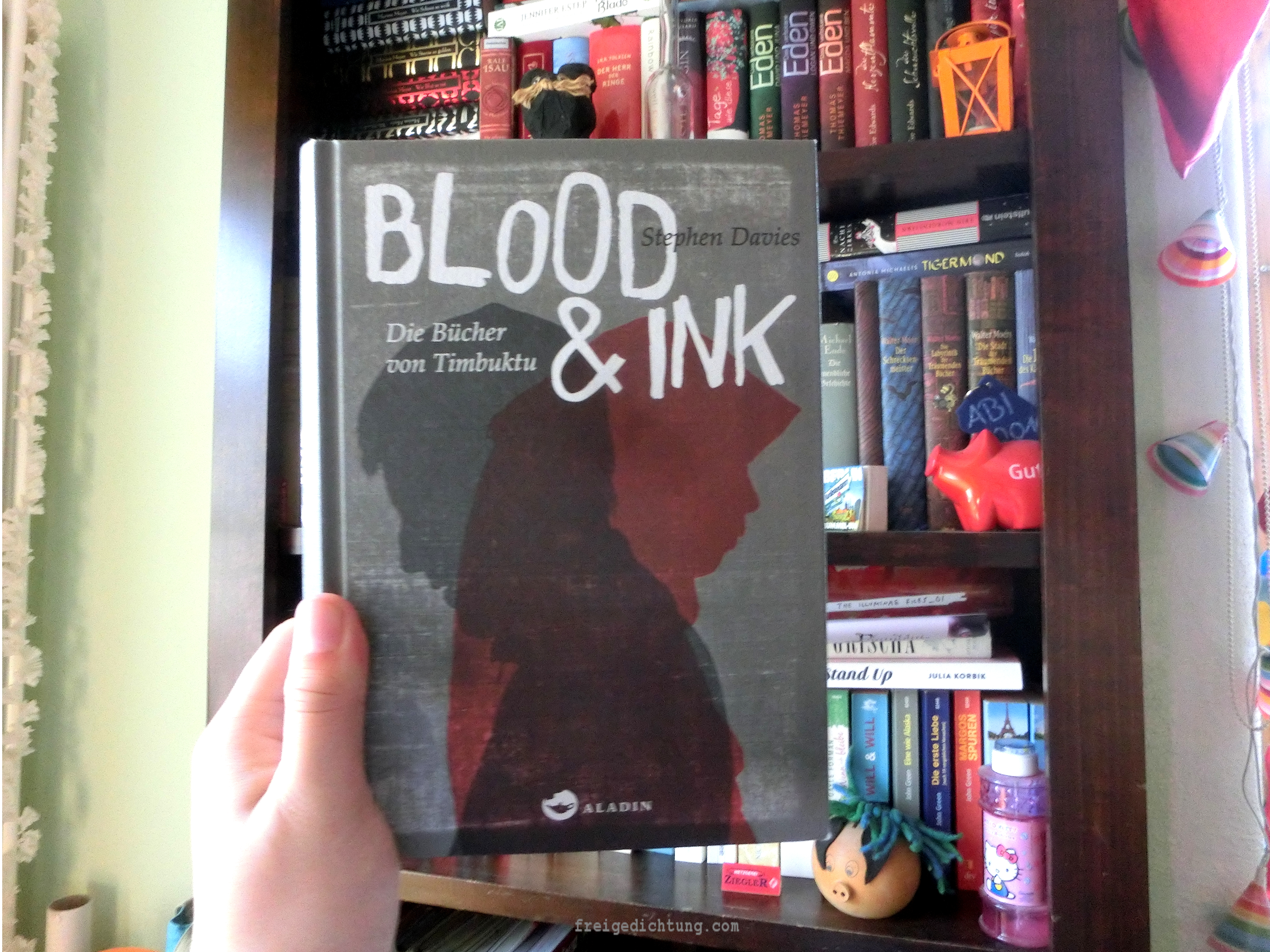 Buch Blood and Ink
