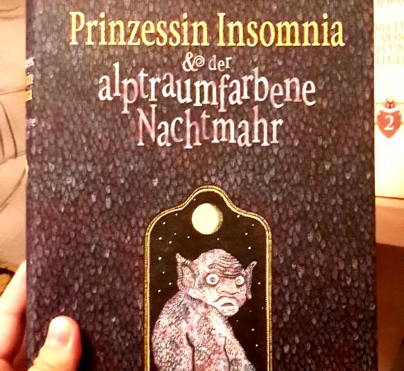 [Rezension] Walter Moers: Prinzession Insomnia & der alptraumfarbene Nachtmahr